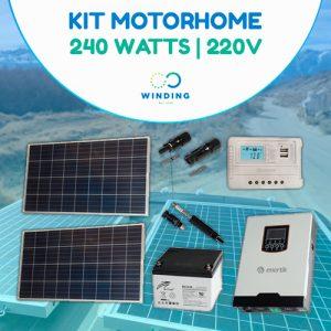 Kit solar para motorhome en Argentina